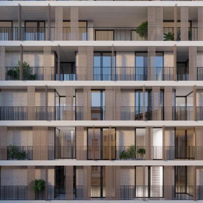 facciata intervento immobiliare