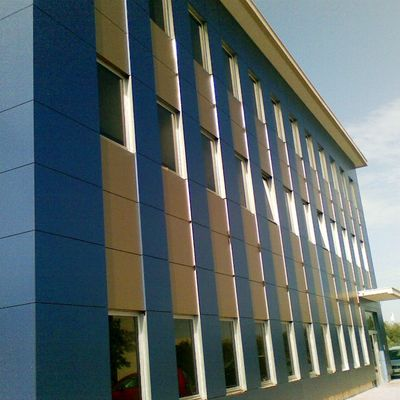 nuova facciata ventilata dopo