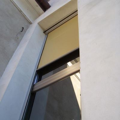 Oscurante e finestra a disegno