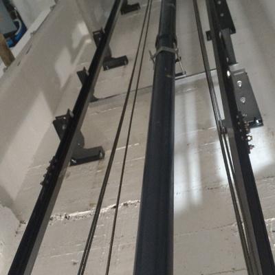 pistone giuntato di 7 metri