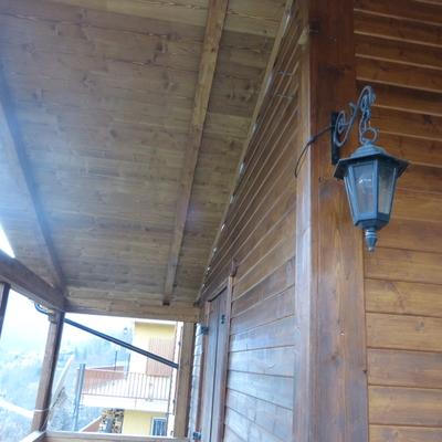 rivestimento legno muri esterni