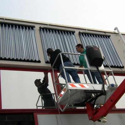Pannelli solari sottovuoto