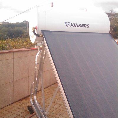 Pannello Solare a Circolazione Naturale