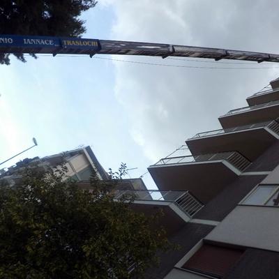 panorama della scala
