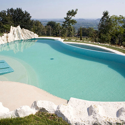 Panoramica piscina privata