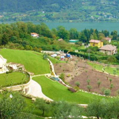 Parco villa singola - Spinone al Lago (BG)