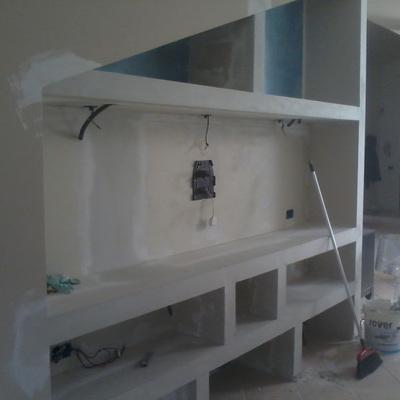 Preventivo parete attrezzata in cartongesso palermo online habitissimo - Cartongesso parete attrezzata ...