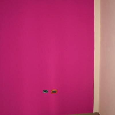 parete color lilla