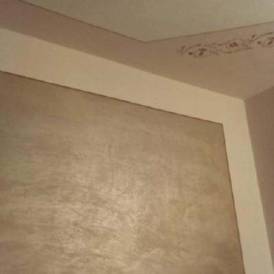 parete con effetto decorativo