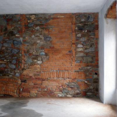 parete in Pietra e Cotto.