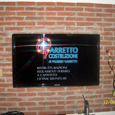parete tv soggiorno