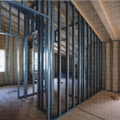 pareti complete divisorie in cartongesso
