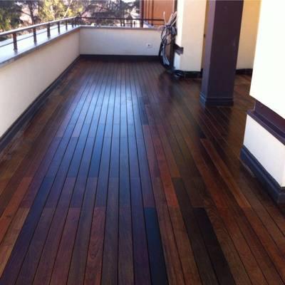 Parquet per terrazza decking