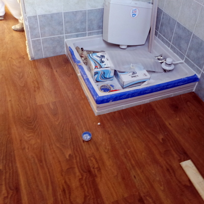 parquet bagno