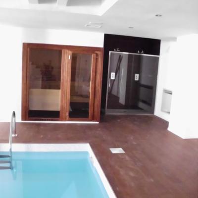 Parquet interno piscina