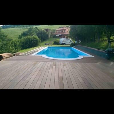 pavimentazione legno decking
