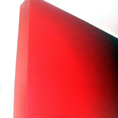 Parte rosso inglese con ducotone semilucido.