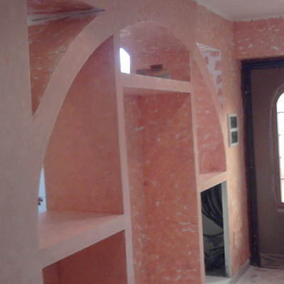 parziale ristrutturazione casa ci campagna - frascati