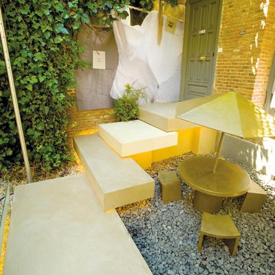 patio locale commerciale