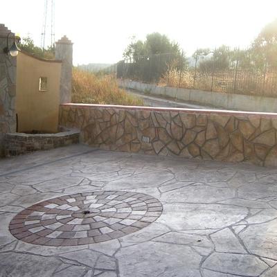 Posa per esterno carrabile ingresso villa monteforte d - Pavimentazione giardino senza cemento ...