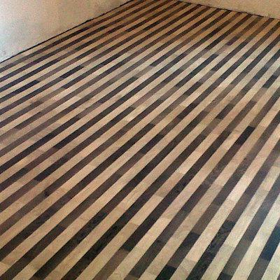 pavimento bicolore