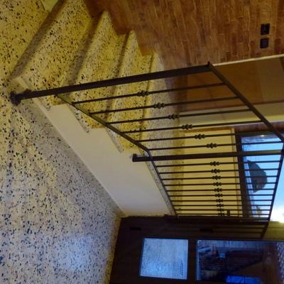 Pavimento e scala in seminato alla veneziana