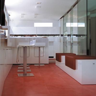60x60 Gres porcellanato Loft rosso