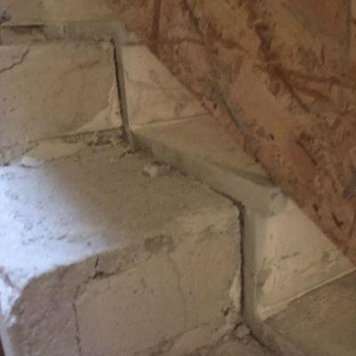 taglio rampe scale