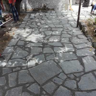 Rifacimento pavimento esterno