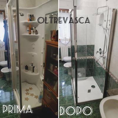 Sostituzione cabina doccia