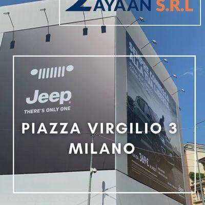 Piazza Virgilio  3 Milano