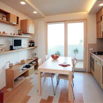 Piccolo appartamento: cucina-pranzo