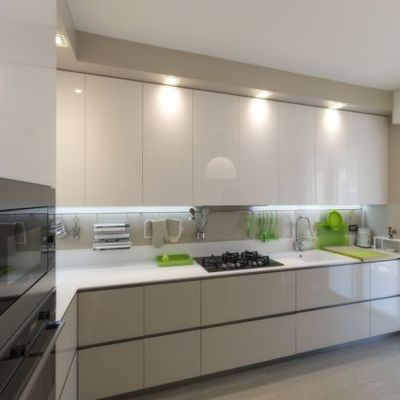 Cucina laccata lucida