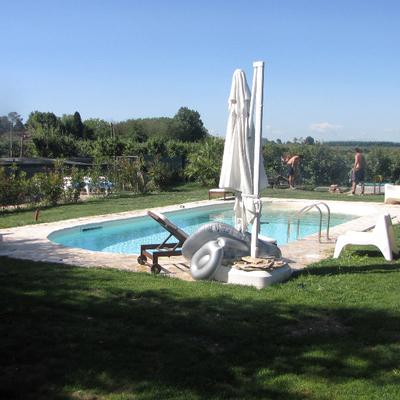 piscina + giardino