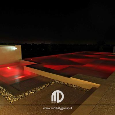 piscina notte_domotica luci led
