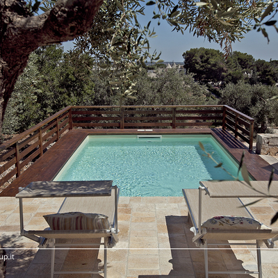 piscina ulivi relax puglia