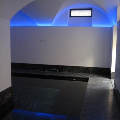 piscina villa piano interrato