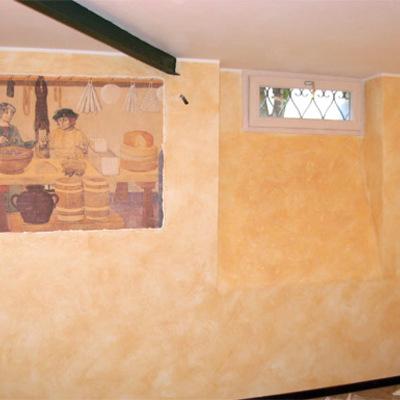 pittura decorativa e disegno