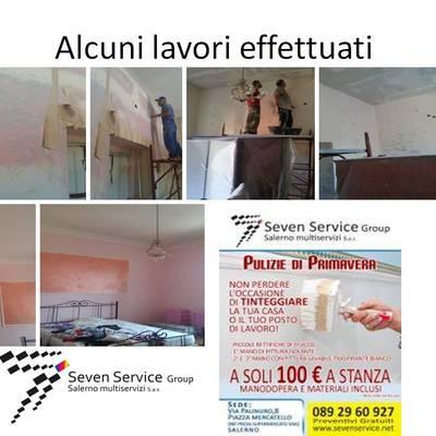 Pitturazione stanza di un appartamento