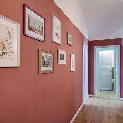 Idee e foto di pareti color pesca per ispirarti habitissimo for Immagini di pareti colorate