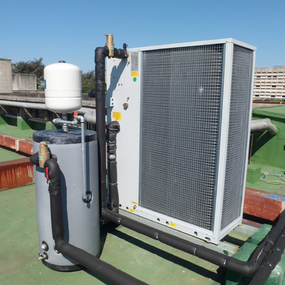 Pompa di calore per UTA