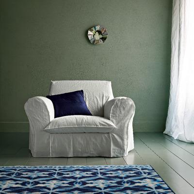Poltrona BIG e tappeto BLUE CARPET