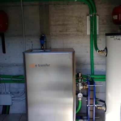 pompa di calore georermica