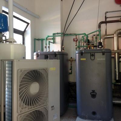 Lario energy srl tavernerio for Impianto di riscaldamento con pompa di calore