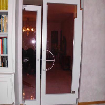Porta asimmetrica