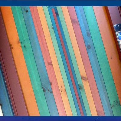 Porta di piano in legno