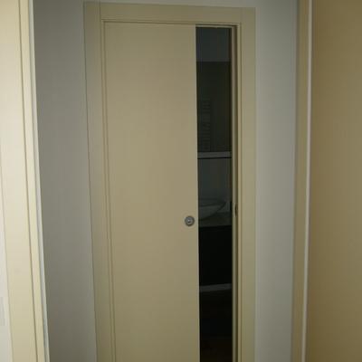 Porta laccata avorio