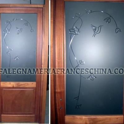 Porte con vetri artistici
