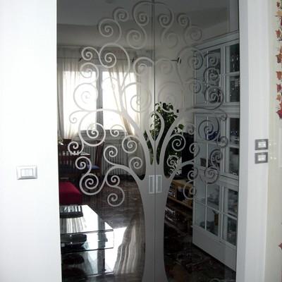 Porte vetro personalizzate