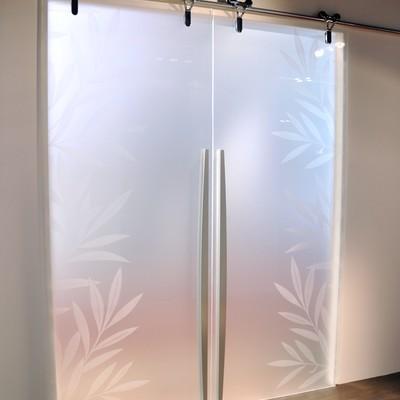 Porte vetro scorrevoli